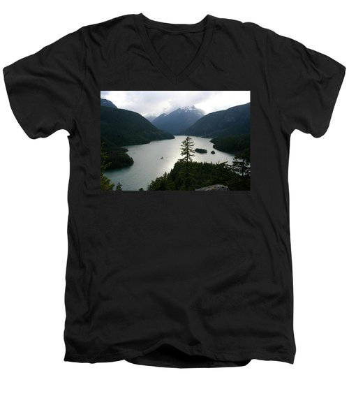 North Cascades Men's V-Neck T-Shirt