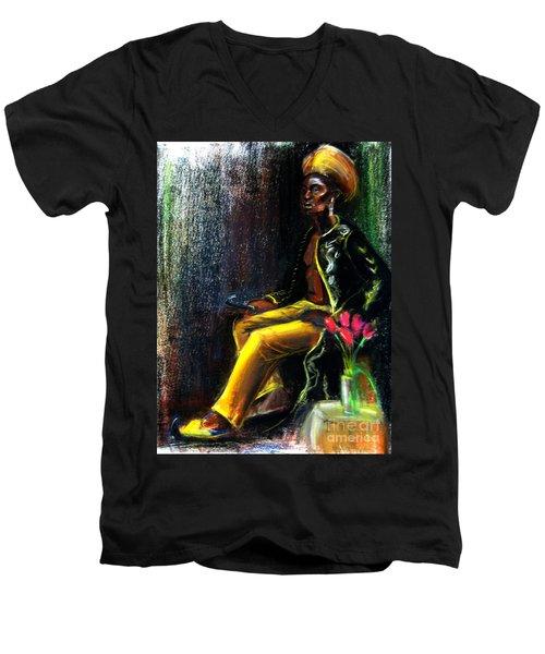 Odelisque Men's V-Neck T-Shirt
