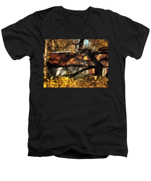 Old Sugar Shack Men's V-Neck T-Shirt