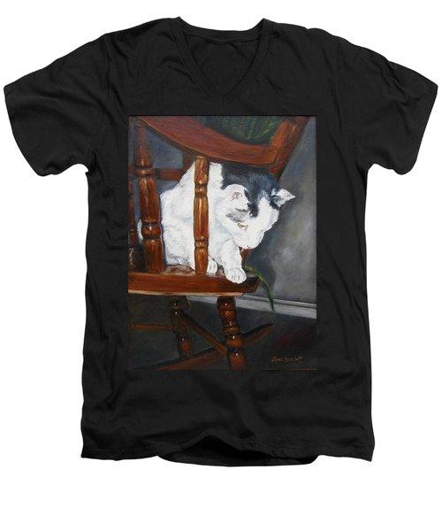 Oops Men's V-Neck T-Shirt