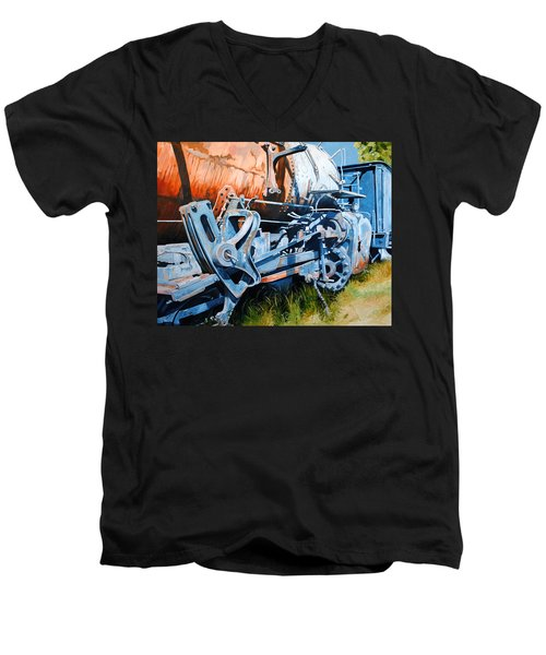 Out Of Gear Men's V-Neck T-Shirt