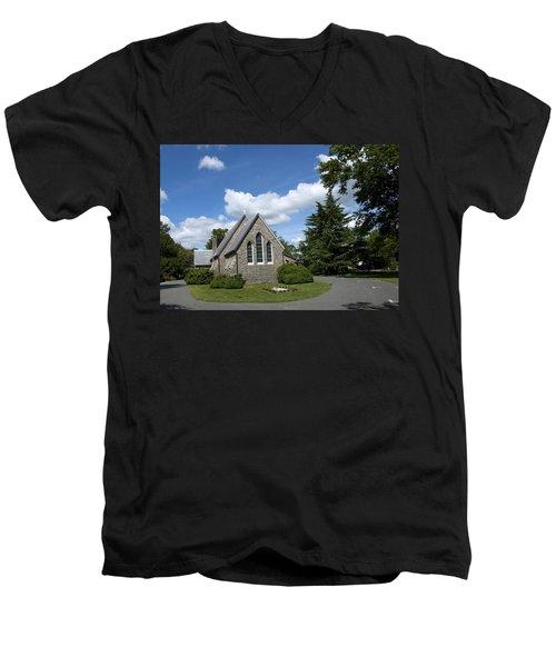 Oxford Church Men's V-Neck T-Shirt