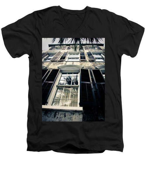 Palms Up Men's V-Neck T-Shirt