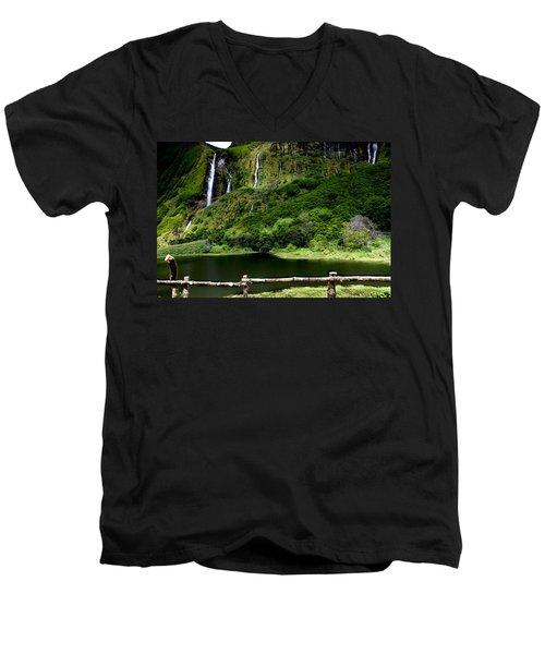 Paradise II Men's V-Neck T-Shirt