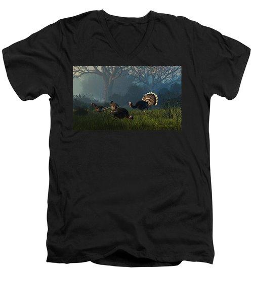 Party Of Four Men's V-Neck T-Shirt