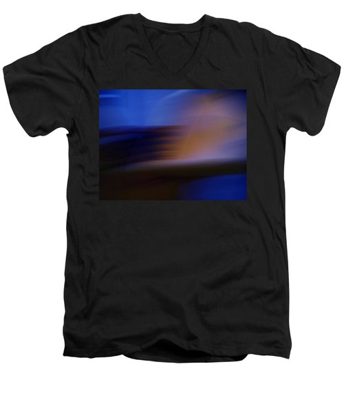 Men's V-Neck T-Shirt featuring the photograph Photo Mixture Experiment by Colette V Hera  Guggenheim