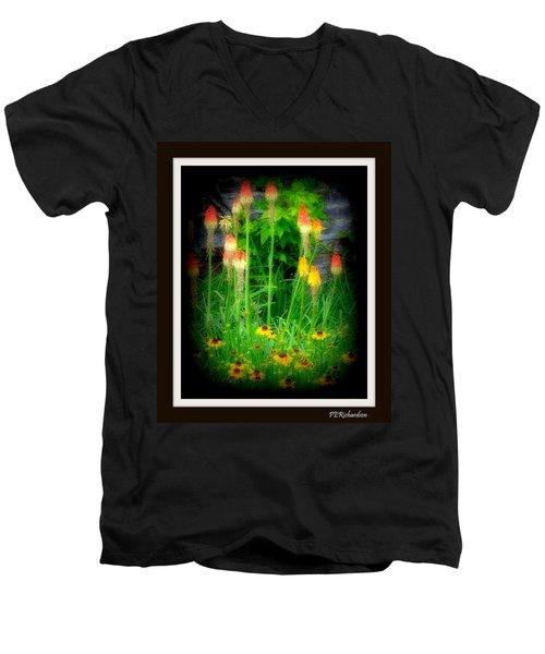 Poker Men's V-Neck T-Shirt