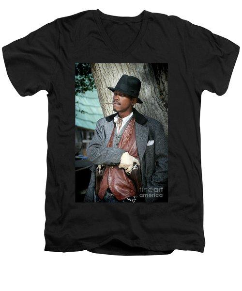 Portrait Of Kurupt Men's V-Neck T-Shirt
