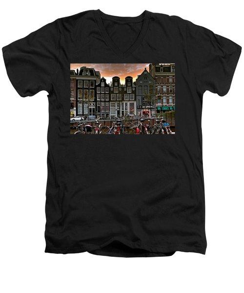 Prinsengracht 458. Amsterdam Men's V-Neck T-Shirt