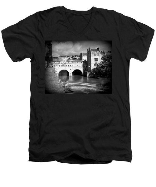 Pulteney Bridge Men's V-Neck T-Shirt