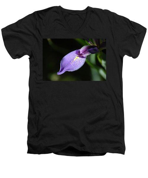 Japanese Iris Petal Men's V-Neck T-Shirt