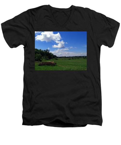 Ready For Work Men's V-Neck T-Shirt
