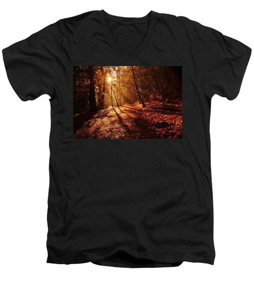 Reelig Sun Men's V-Neck T-Shirt