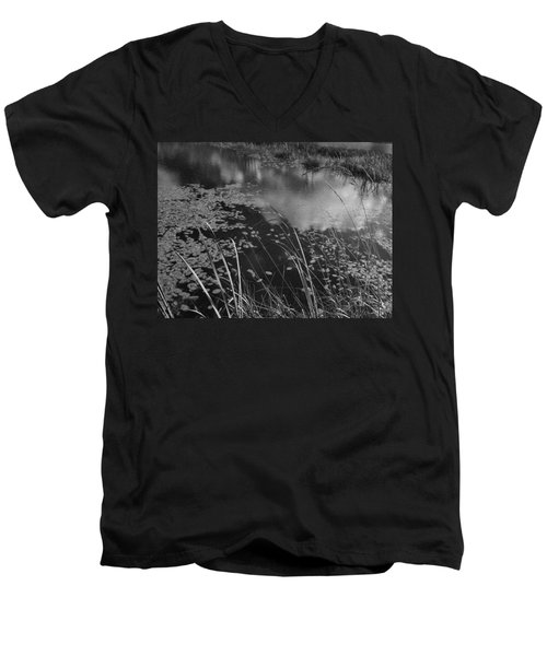 Reflections In The Pond Men's V-Neck T-Shirt