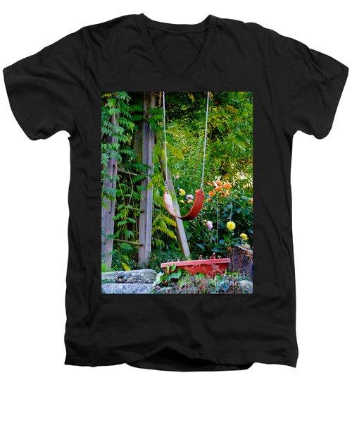 Remember... Men's V-Neck T-Shirt by Rory Sagner