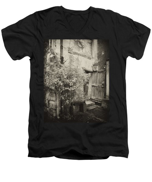 Men's V-Neck T-Shirt featuring the photograph Renovation by Hugh Smith