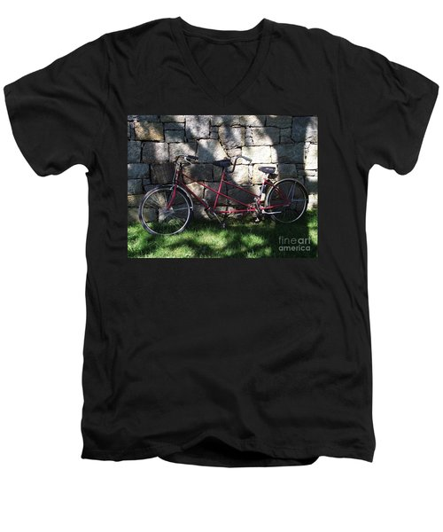 Retired  Ride Men's V-Neck T-Shirt