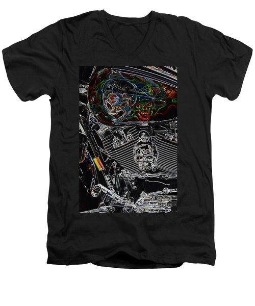 Road Warrior Men's V-Neck T-Shirt
