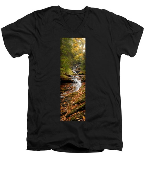 Roaring Fork Falls Men's V-Neck T-Shirt