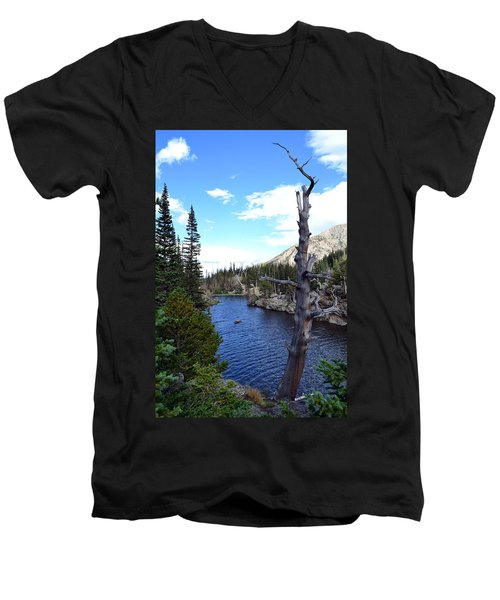 Rocky Mountain National Park1 Men's V-Neck T-Shirt