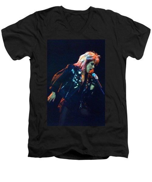 Samantha Fox Men's V-Neck T-Shirt
