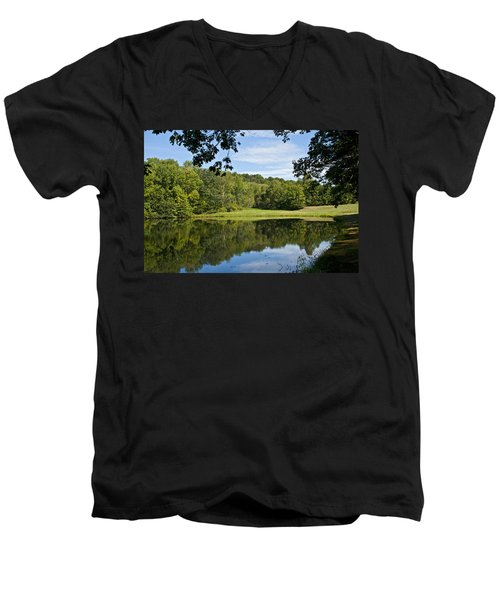 Secret Fishing Hole Men's V-Neck T-Shirt