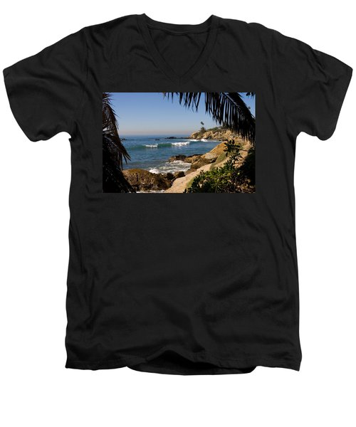 Secret View Men's V-Neck T-Shirt