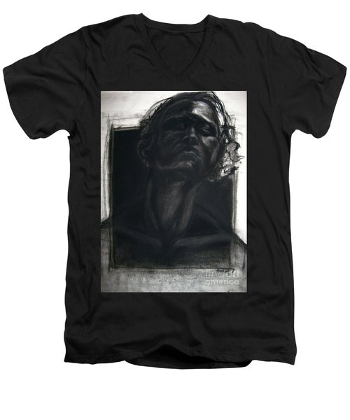 Self Portrait 2008 Men's V-Neck T-Shirt