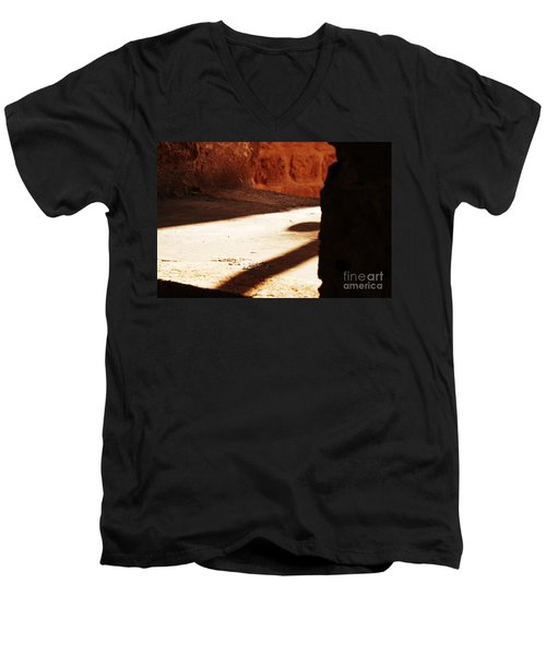 Shadow On The Windows Men's V-Neck T-Shirt