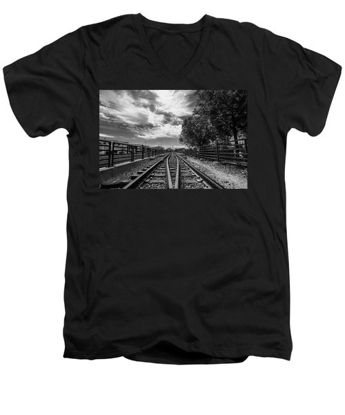 Silent Spur Men's V-Neck T-Shirt