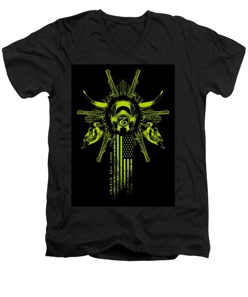 Six Shooter Men's V-Neck T-Shirt