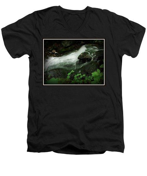 Slide Men's V-Neck T-Shirt