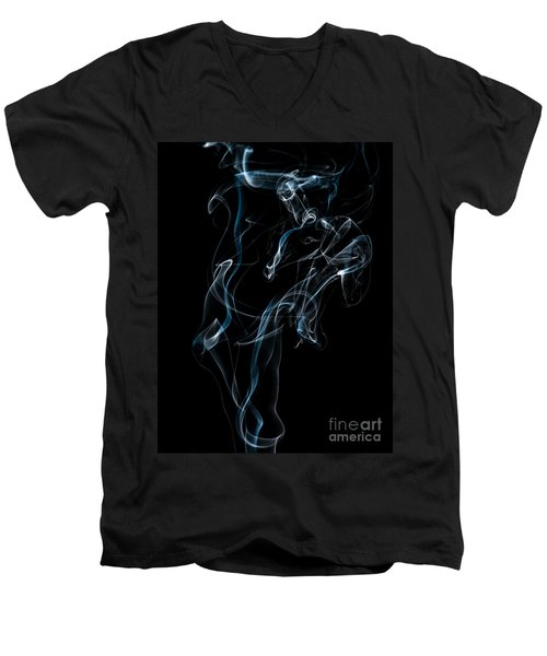 Smoke-6 Men's V-Neck T-Shirt