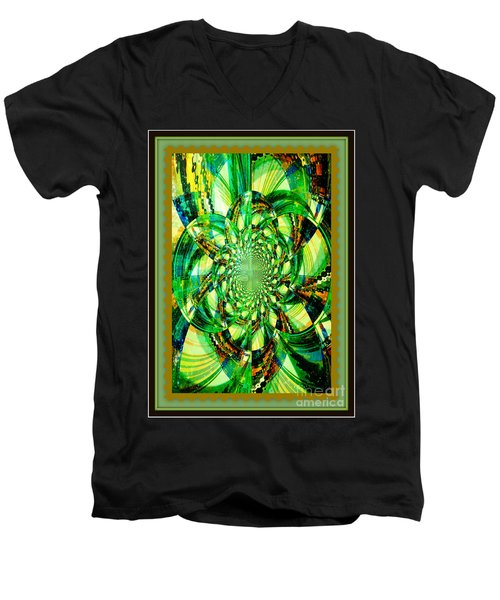 Solar Explosion Men's V-Neck T-Shirt