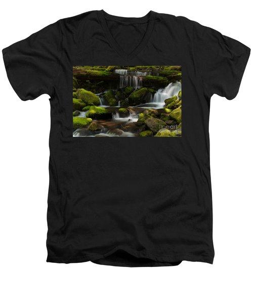 Spotlights Men's V-Neck T-Shirt