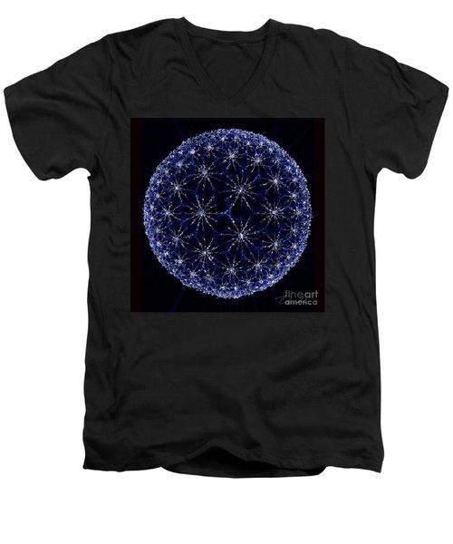 Starry Night Men's V-Neck T-Shirt by Danuta Bennett