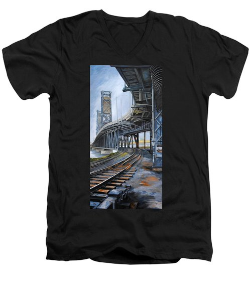 Steel Bridge 2012 Men's V-Neck T-Shirt