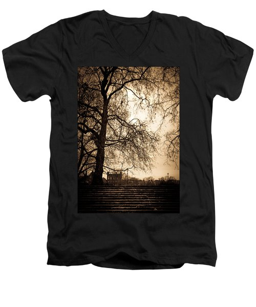 Step Up To The Little House Men's V-Neck T-Shirt