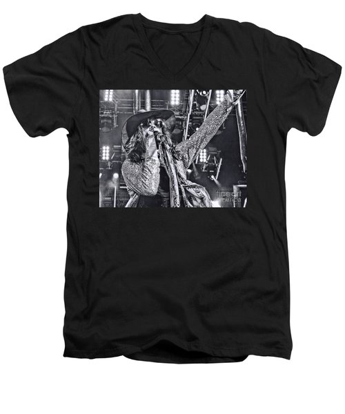 Men's V-Neck T-Shirt featuring the photograph Steven T by Traci Cottingham