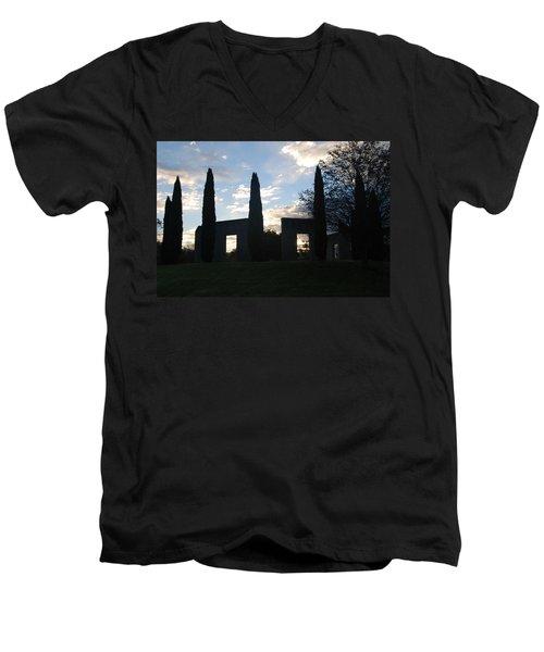 Stonehenge Men's V-Neck T-Shirt