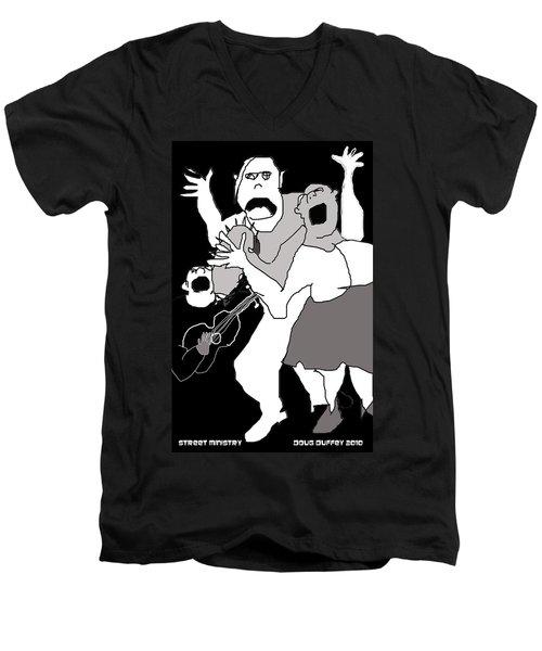 Street Ministry Men's V-Neck T-Shirt