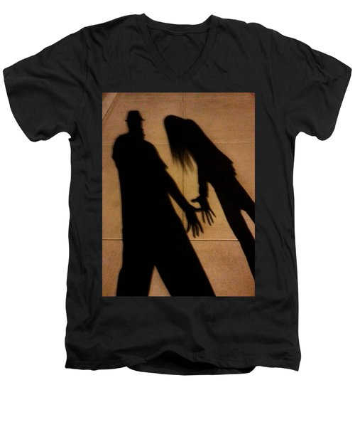 Street Shadows 006 Men's V-Neck T-Shirt