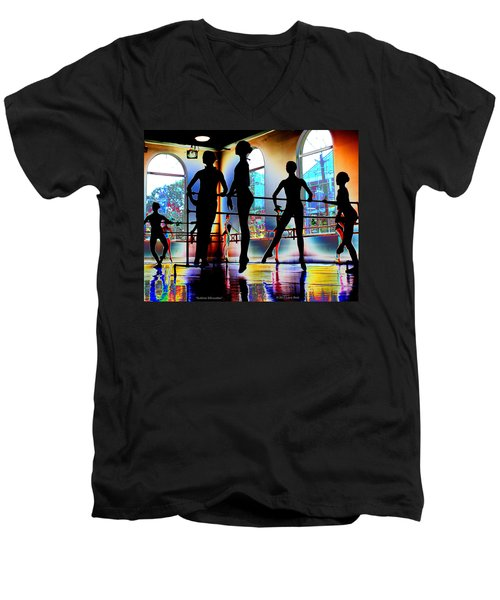 Sublime Silhouettes Men's V-Neck T-Shirt