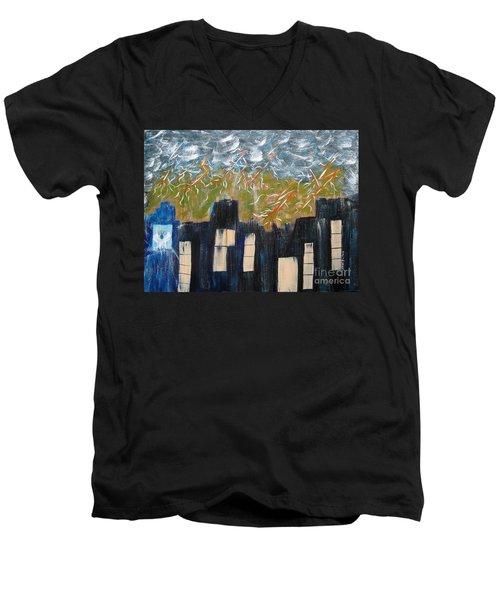 Suddenly Men's V-Neck T-Shirt