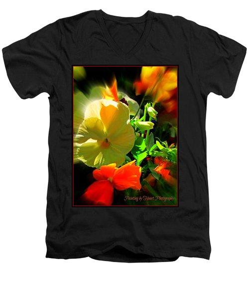 Summer Bloom Men's V-Neck T-Shirt