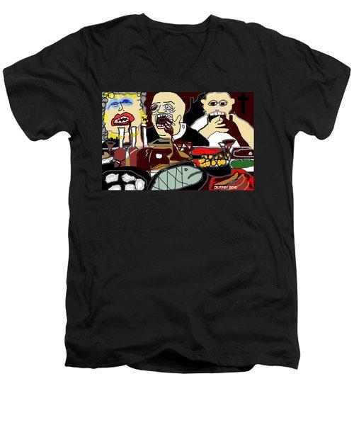 Sunday Dinner Men's V-Neck T-Shirt