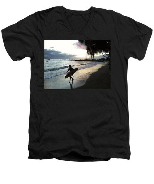 Sunset Surf Men's V-Neck T-Shirt