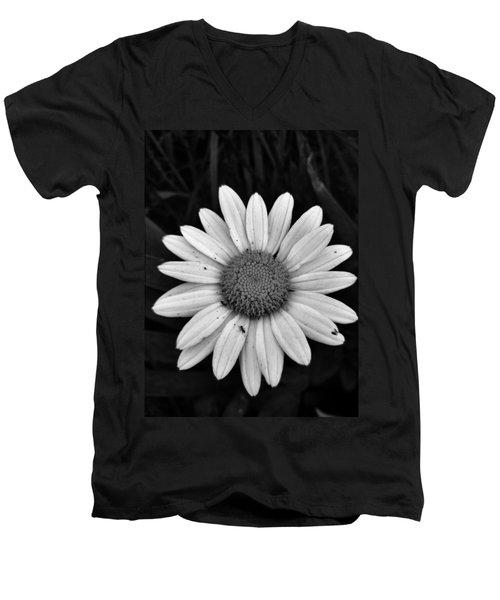 Sunshine Men's V-Neck T-Shirt by Janice Spivey
