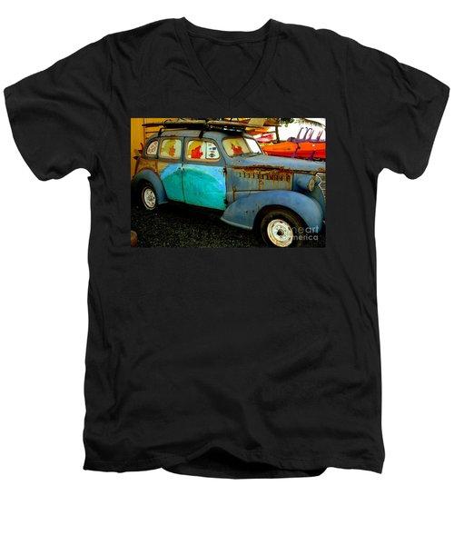 Surf Mobile Men's V-Neck T-Shirt