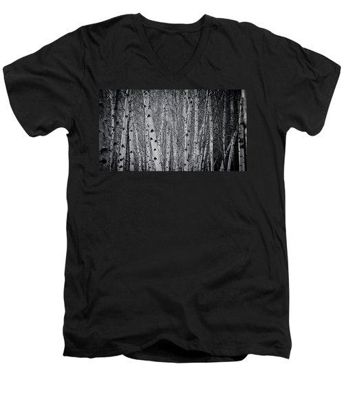 Tate Modern Trees Men's V-Neck T-Shirt